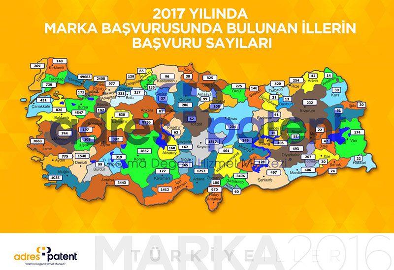 Adres Patent, Nisan ayına ait Türkiye'nin marka başvuru sayısını açıkladı.