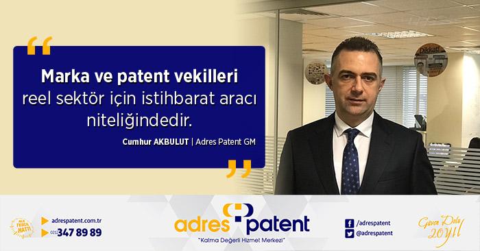 marka patent vekilleri reel sektör için istihbarat aracılığı niteliğinde