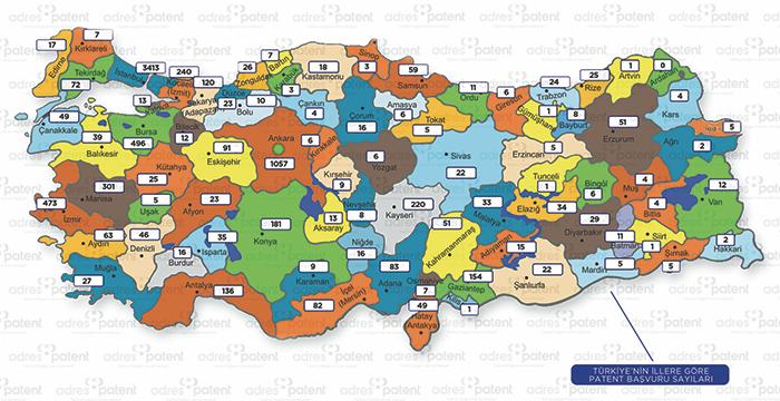 Pandemide Türkiye, sınai mülkiyete damga vurdu
